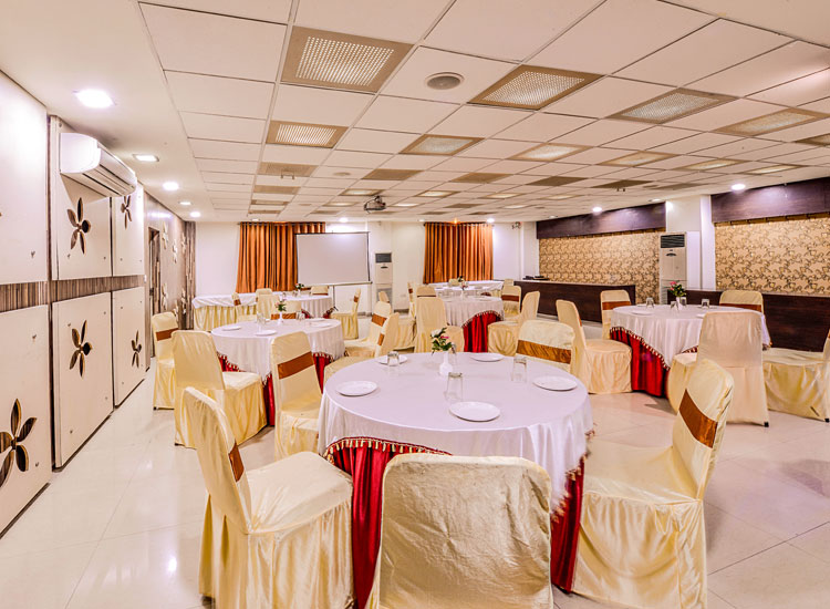 Conference hall at Raghu Mahal, best hotel in udaipur